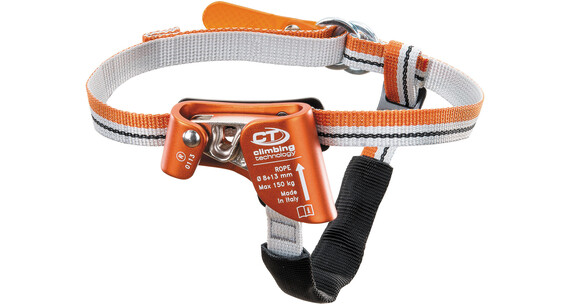 Climbing Technology Quick Step S - Bloqueur - Right Foot gris/orange